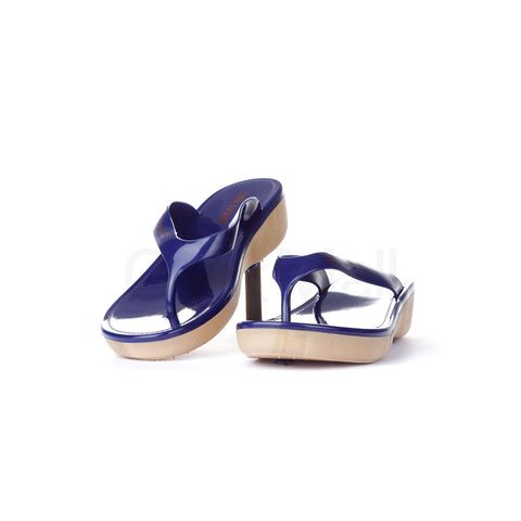 PV-5122 Women Blue Slippers Size-37
