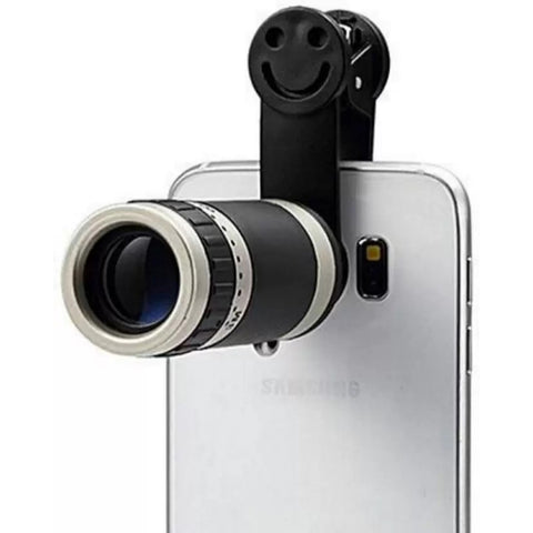 Original 8x Mobile Zoom Lens Better Quality - Silver