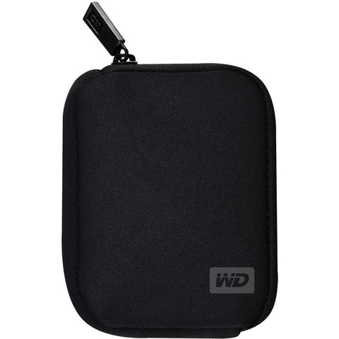 Electrotech WD External Hard Drive-Soft Pouch/Carrying Case-Black