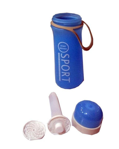 Sports Insulated Freezing Water Bottle - Blue