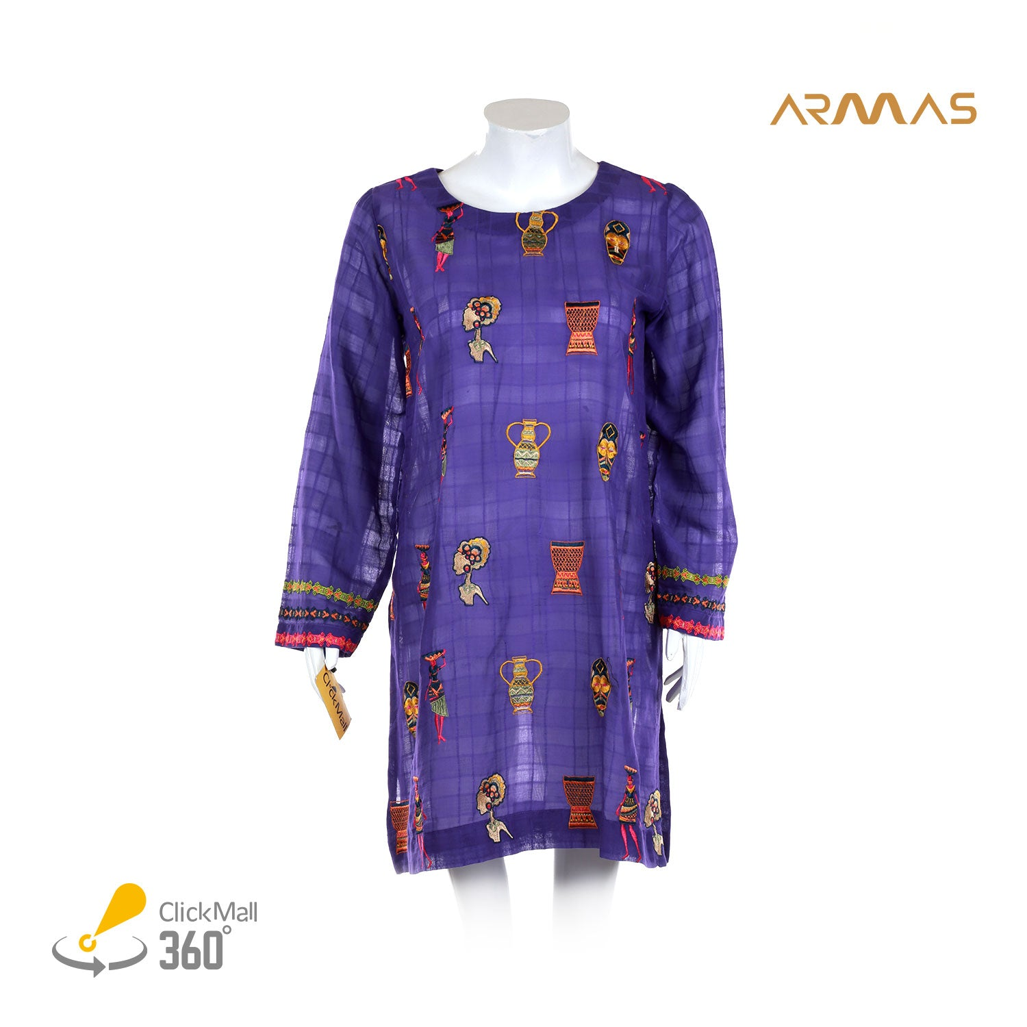 Armas African Art Lawn Shirt - ARE-ESL-055A