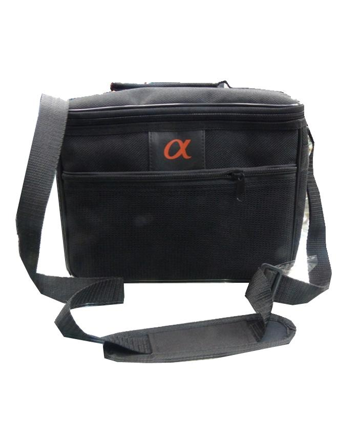 Alpha DSLR Double lens bag - Black