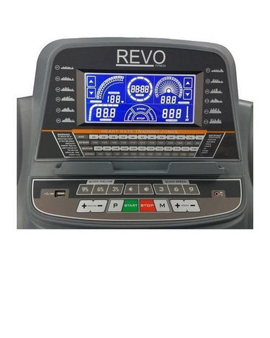 RT114 AC 4.5HP Motor - 140Kg - Treadmill with Warranty