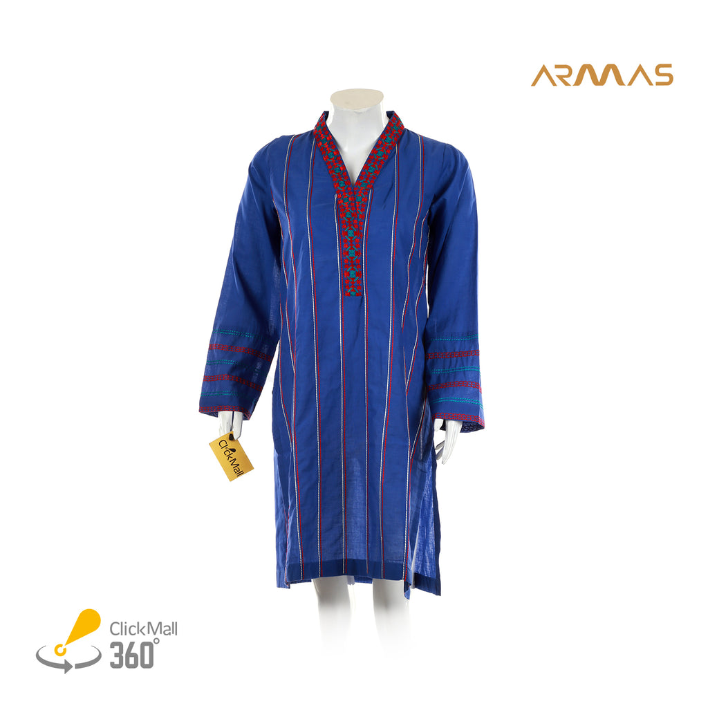 Armas Playful Stripes Lawn Shirt - ARE-ESL-058A