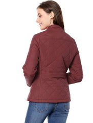 Prime Red Ladies Parachute Jacket Women Jacket AK-01