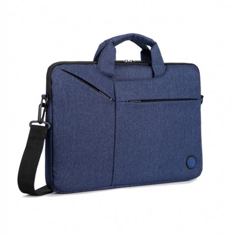 Brinch BW-235 Laptop Bag, Available in 14.6 Inch - Grey & 15.6 Inch - Blue sizes
