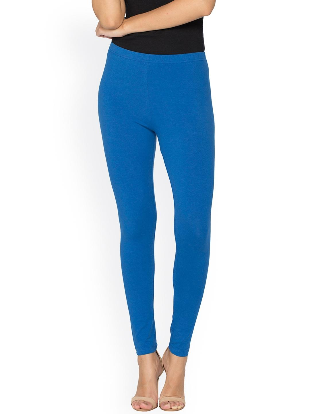 Women's Royal Blue Viscose Comfortable Tights. KTY-T246