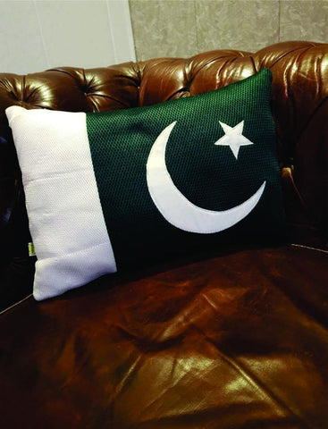 Pakistan Flag Cushion - Special For Pakistan Lovers