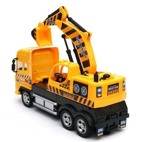 Kids construction super truck - yellow