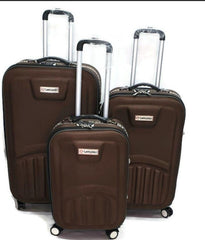 Toro . By Pakistan 3 Pcs Set 4 Wheel Spinner Troly Suitcase Set-spinner brawon