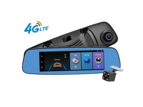 7.84 inch Wifi GSM 4G LTE Android Smart Car Mirror DVR with Camera