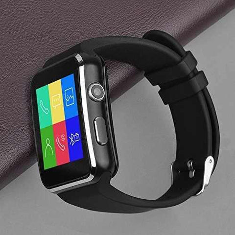 X6 SmartWatch with Camera Touch Screen Support TF Card Bluetooth