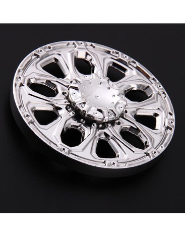 Electrotech Spinner-Round Alloy Wheel-Silver