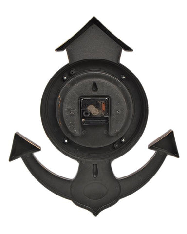 Anchor Wall Clock - Brown - 16x14 Inches - CL-018
