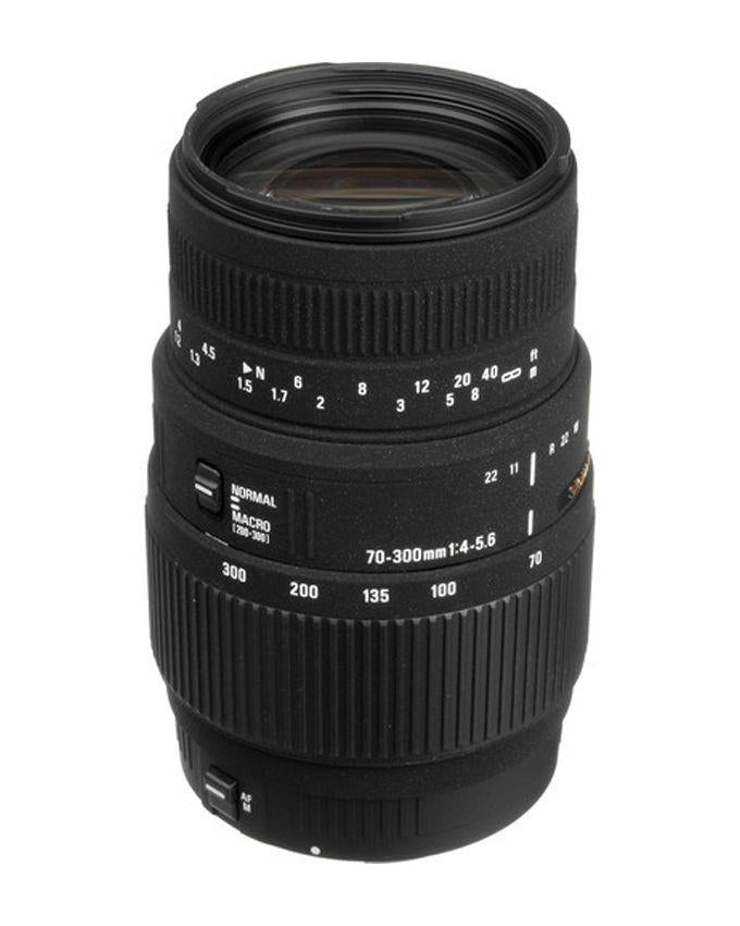 70-300mm f/4-5.6 DG Macro Lens Canon Mount - Black