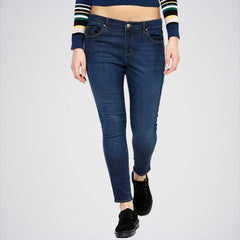 Women's Dark Blue Skinny Jeans ABR-30