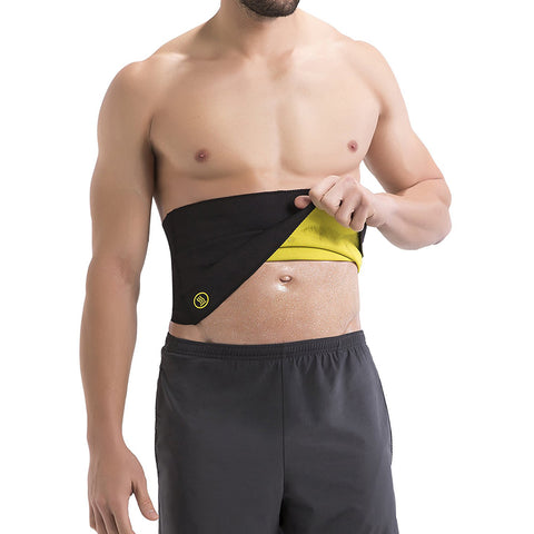 Pack of 2 Hot Shapers Thermal Belt For Men -Medium