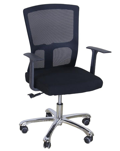 Popamazing Imported Comfortable Chair for Office, Work, Home - Black