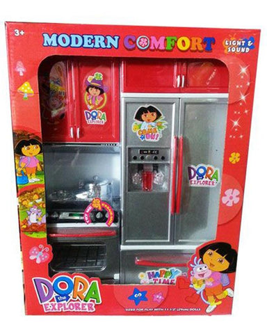 Birthday Special Gift Offer Dora Girls Kitchen Set Toy - Multicolor
