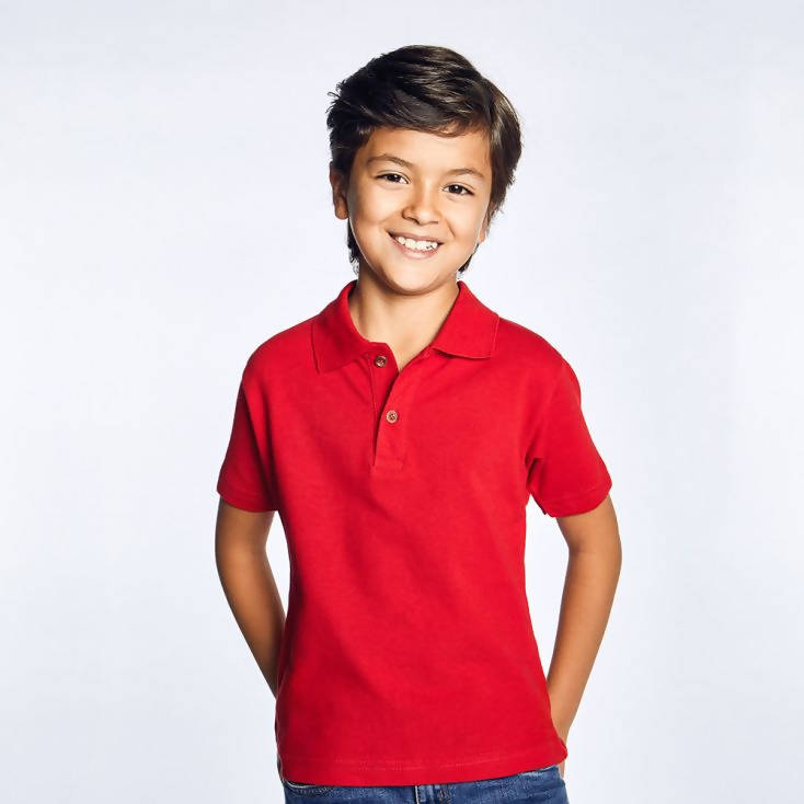POLO SHIRT RED