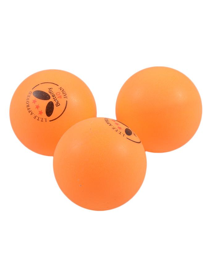 Pack of 3 Butterfly 40 Japan Table Tennis Match Balls SP-280