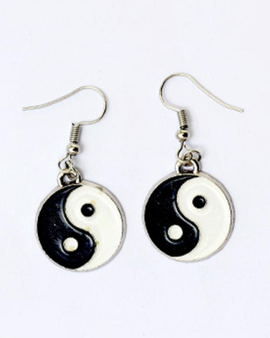 Rhizmal Tai Chi Spiritual Jewellery Set - Black & White