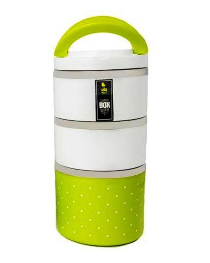 3 Layers Lunch Box - Green