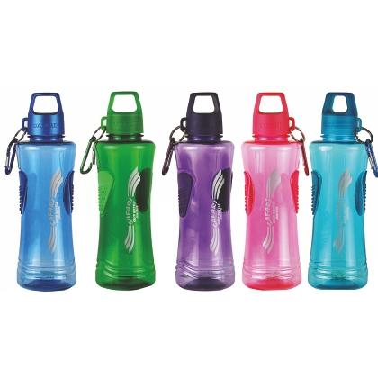 Water Bottle BPA Free Plastic With Holding Grip 550ml
