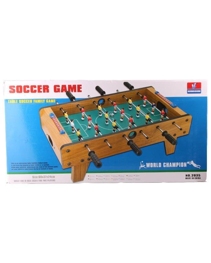 2035S - Soccer Game - Green & Brown