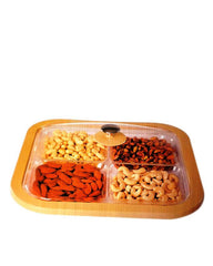 Superior Quality Dry Fruit Tray - Medium Size