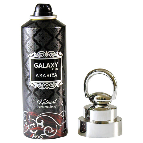 Galaxy+ Arabiya Kalimat Deodorant Body Spray for HER -Black
