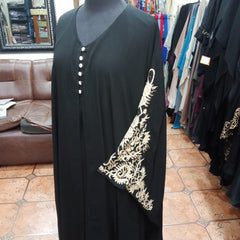 Abaya Double Big Bazoo Embroidery