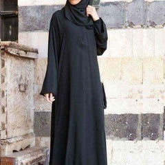 Abaya Plain with Scarf