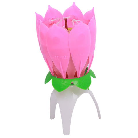 Ingenious Gadgets - Birthday Candles - Multicolor AM-BdyCanFlower