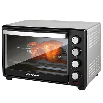 Multynet 1600W Electric Baking Oven Amt-9002 Black