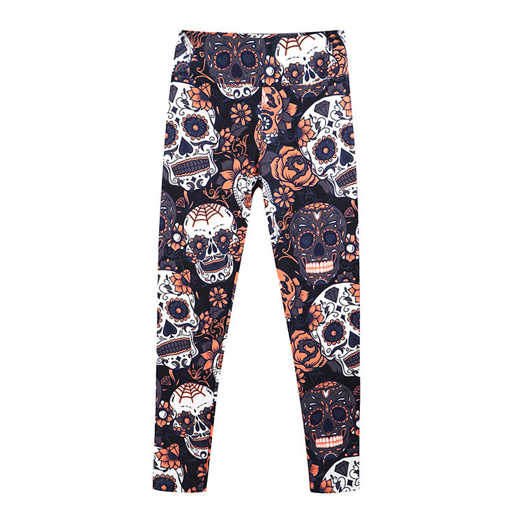 Animal Print Halloween Party Women High Waist Super Soft Leggings