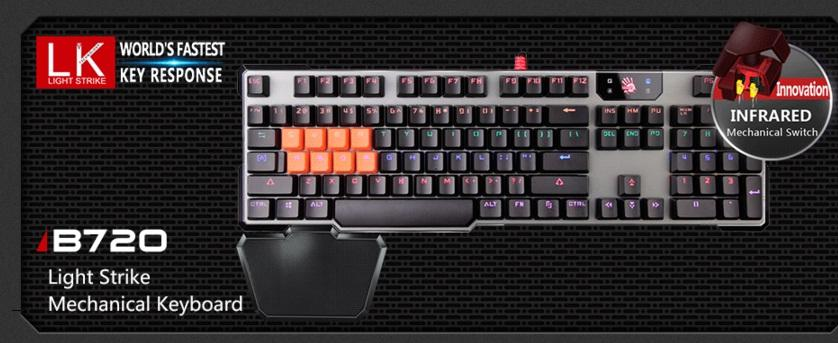 A4Tech B720 (MECHANICAL KEYBOARD) BLOODY