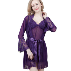 Babydoll Lady Gauze Hot Good Night Wear Plu Size Transparent