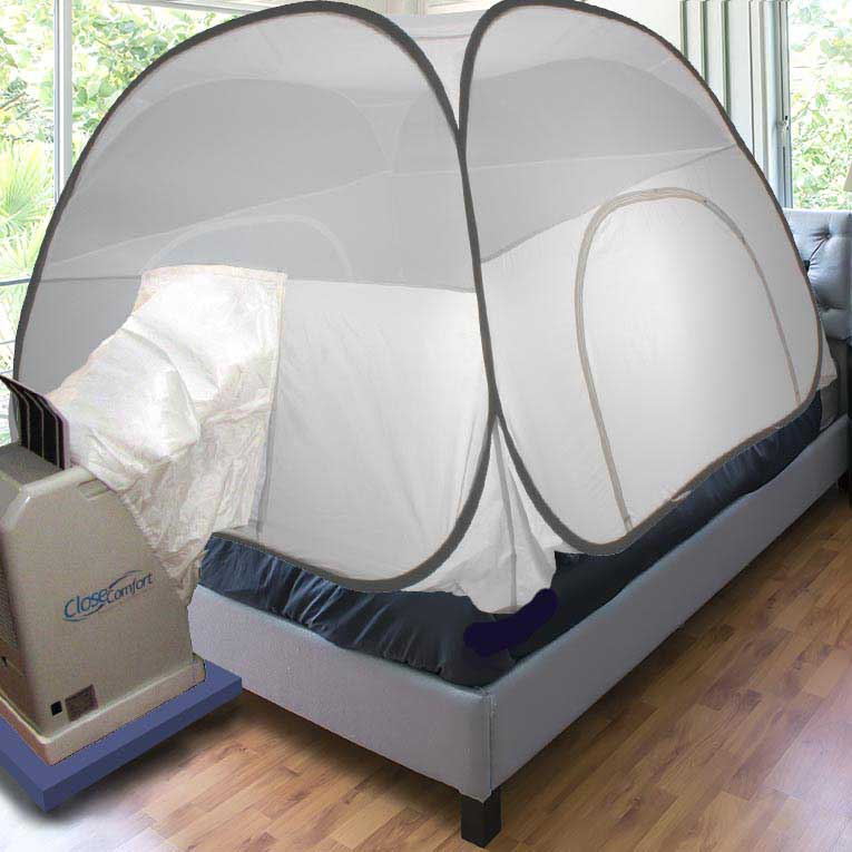 Close Comfort ES PC8 Portable AC with Free Luxury Igloo Bed Tent