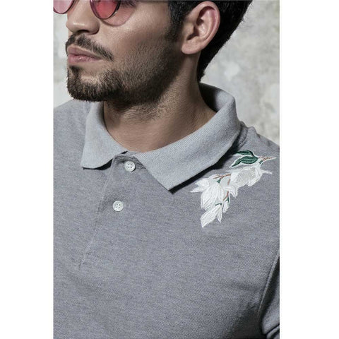 Caesar Grey Shirt - Silver Lining - C-PS-19003