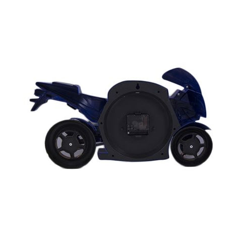 Bicycle Scooter Motorbike Wall Clock Non Ticking-Blue