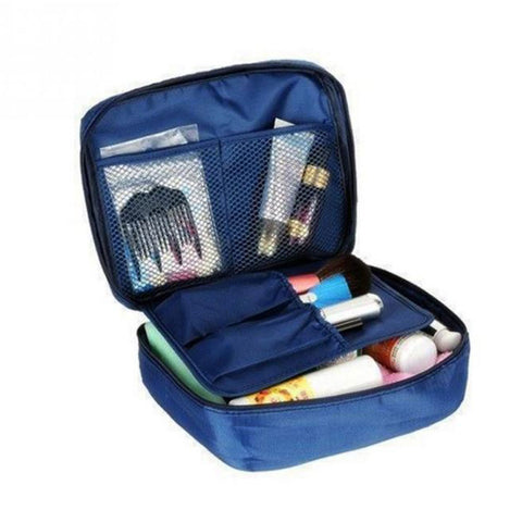 Shopping Mania Cosmetic Travel Bag