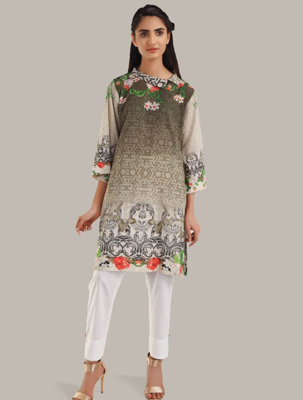 Khas Stitched Collection-DR-249