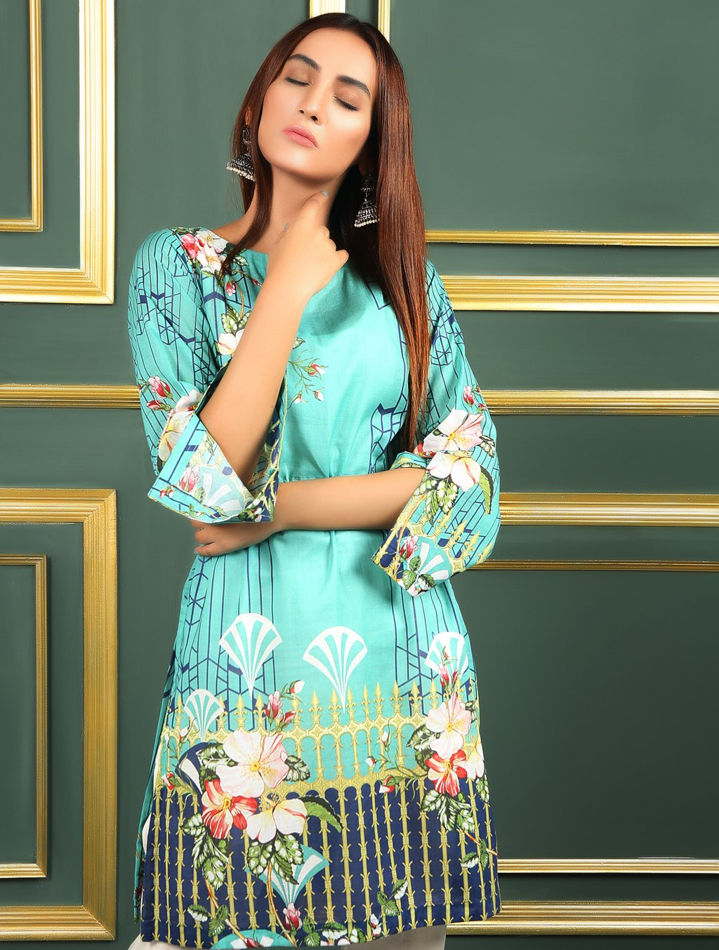 Khas Stitched Collection-DR-291