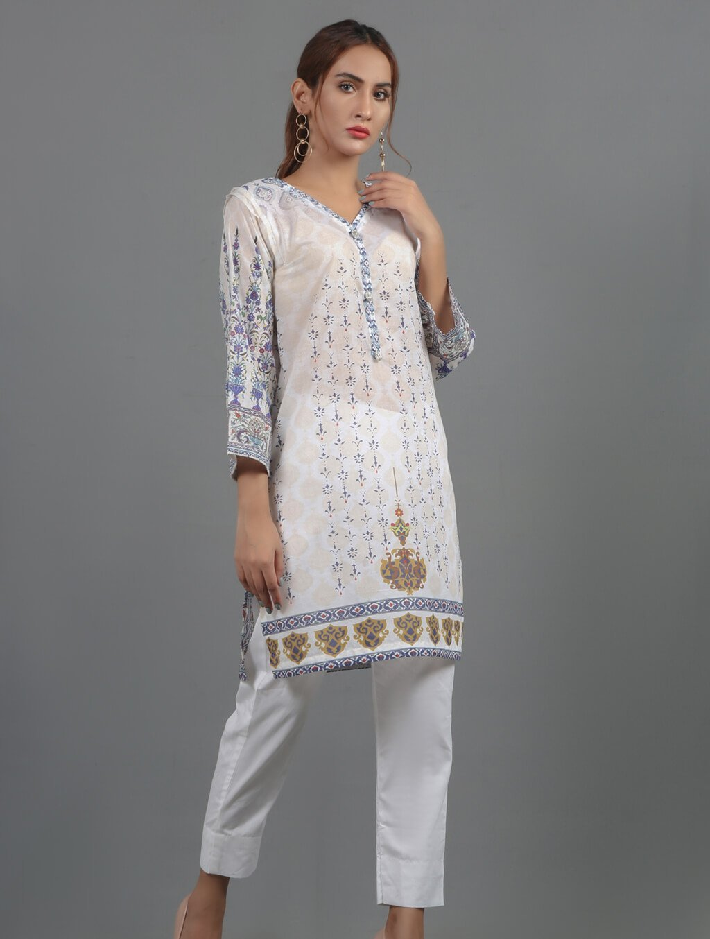 Khas Stitched Collection-DR-295