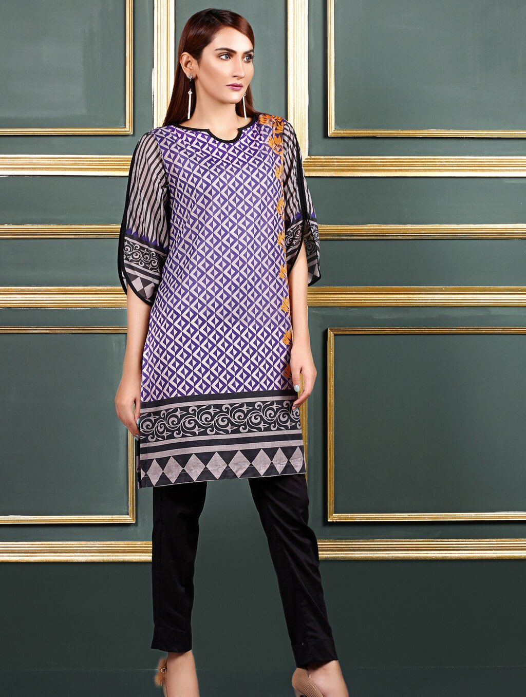 Khas Stitched Collection-DR-305