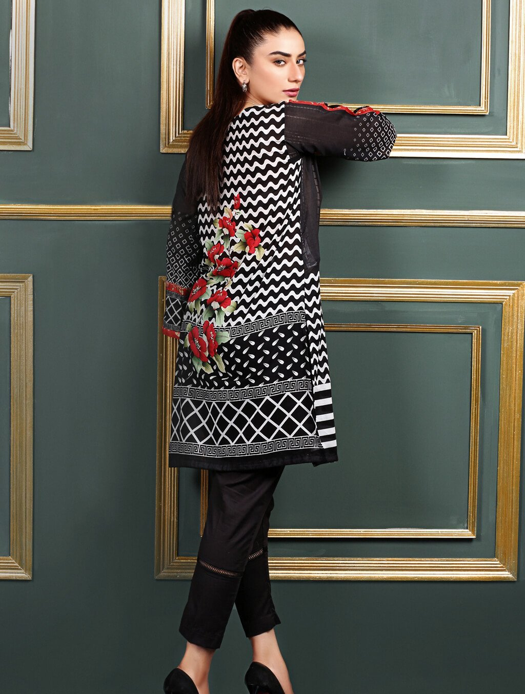 Khas Stitched Collection-DR-313