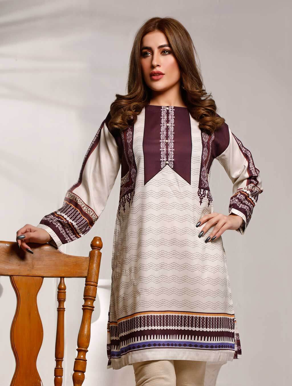 Khas Stitched Collection-DR-399