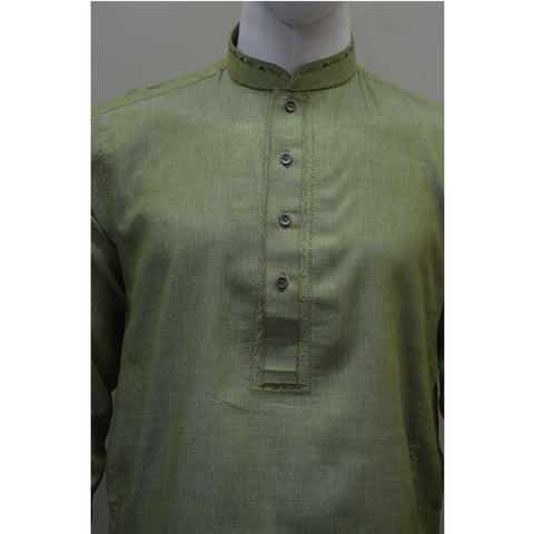 Kostume Light Green Kameez with White Shalwar