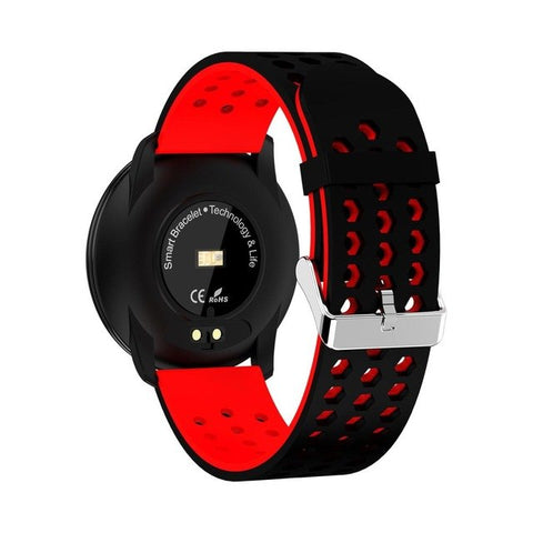 M9 Tft Display Smart Watch Waterproof Fitness Wristband  – Red